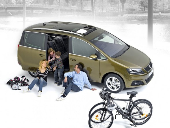 seat alhambra 2 0 tdi la voiture familiale id ale voiture familialevoiture familiale. Black Bedroom Furniture Sets. Home Design Ideas