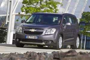 Chevrolet Orlando 2012- un monospace 7 places