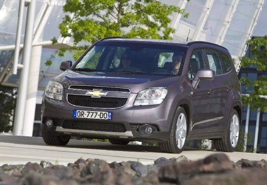 Chevrolet Orlando, le monospace 7 places