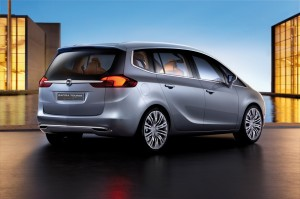 Nouveau look de l'Opel Zafira Tourer