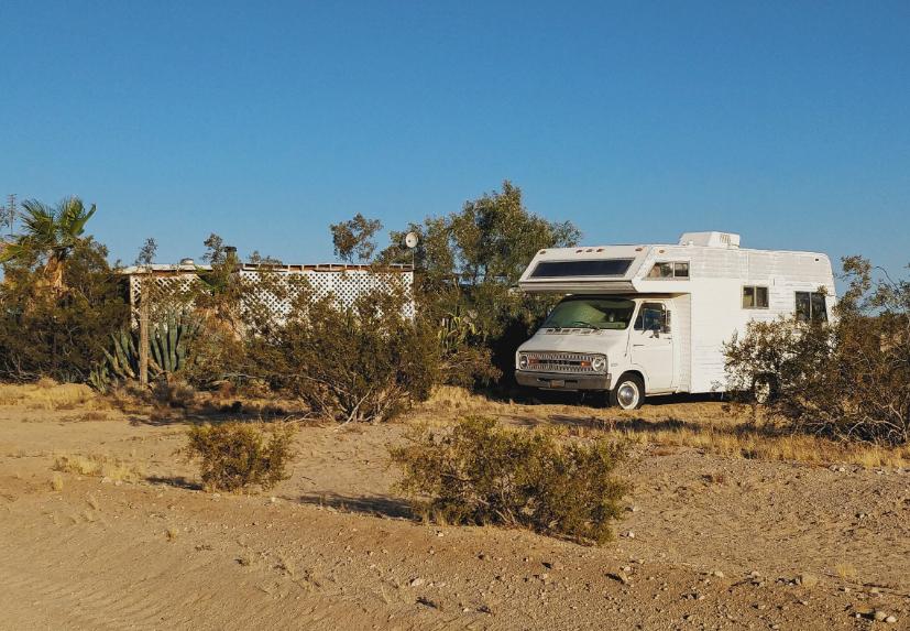 Camping-car battery